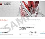 certificazione autodesk autocad